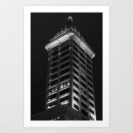 Smith Tower, Seattle WA Art Print