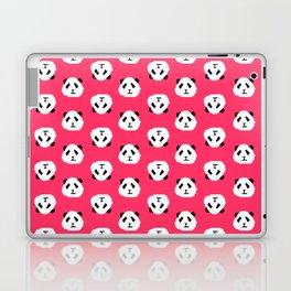 Pink Pixel Panda Pattern Laptop & iPad Skin