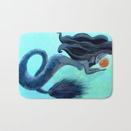 Bubble Fire Bath Mat