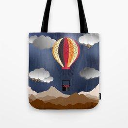 Balloon Aeronautics Rain Tote Bag