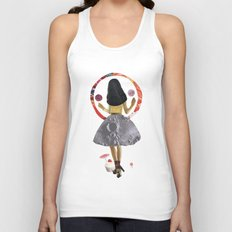 dancing on the moon Unisex Tank Top