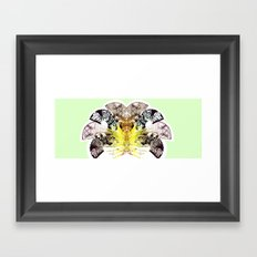 Insecte Eventail summer version Framed Art Print