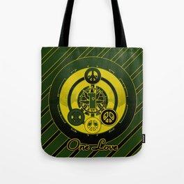 One Love (Green) Tote Bag
