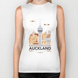 City Illustrations (Auckland, New Zealand) Biker Tank