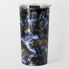 Circle of life of trees in Villarrica Volcano National Forest Travel Mug