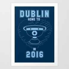 All Ireland Football Champions - Dublin (Navy/Blue) Art Print