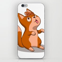 Cat and Bacon iPhone Skin