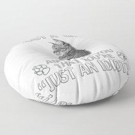 Just A Cat Floor Pillow