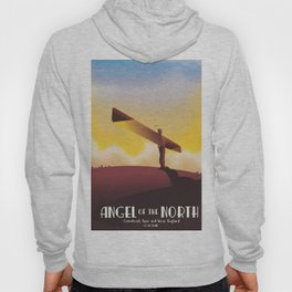 Angel of the North Travel poster. Hoody