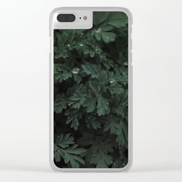 Leafy greens Clear iPhone Case