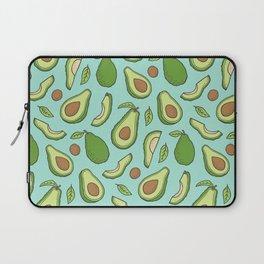 Avocado on Mint Green Laptop Sleeve