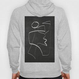 Abstract line art 6/2 Hoody