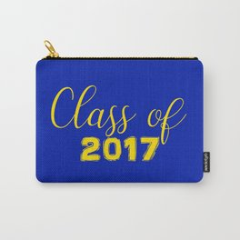 Class of 2017 - Blue Yellow Carry-All Pouch