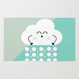 sweet cloud winter design #society6 #decor #buyart #artprint Rug