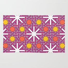 Abstract pink Rug