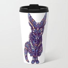 Fennec Fox (Color Version) Travel Mug