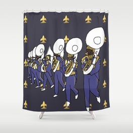 Mardi Gras - I Came for the Bands! Shower Curtain