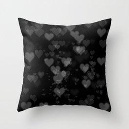 Black Hearts 01 Throw Pillow