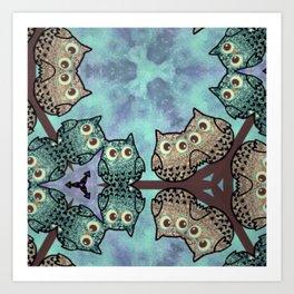 owl 12 Art Print