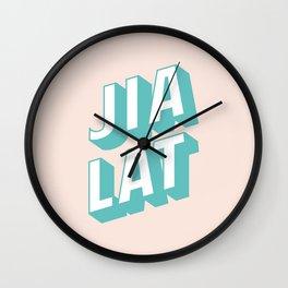 JIA LAT Wall Clock