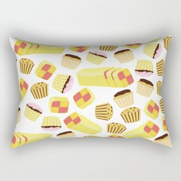Cartoon cakes pattern Rectangular Pillow