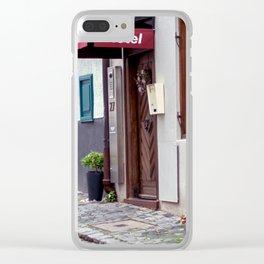 D - Ulm Hotel norrow Hotel Clear iPhone Case
