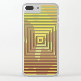 TOPOGRAPHY 2017-018 Clear iPhone Case