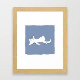 Curious #3 Framed Art Print