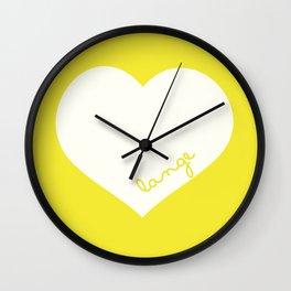 Custom order Lange Wall Clock