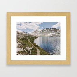 High Sierra Lake Framed Art Print