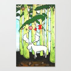 Moose In Washington Canvas Print
