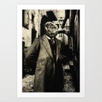 Dark Victorian Portraits: The Innsmouth Look Art Print