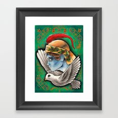 Alighted from the Past Framed Art Print