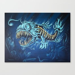 Fervidus Mortem Canvas Print
