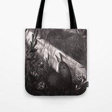 Small, Precious Creature Yawns in a Sunbeam Tote Bag