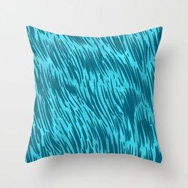 Wall of fur Throw Pillow