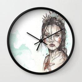 Lost Mermaid Wall Clock