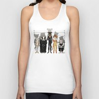returns Tank Tops featuring Unusual Suspects by castlepöp