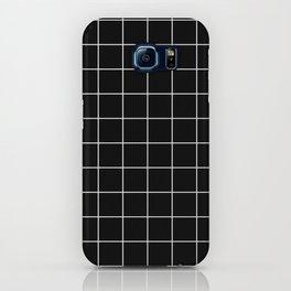 12 Grid Black White Minimal Modern Boho iPhone Case