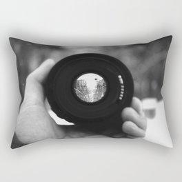 Through a Lens Rectangular Pillow