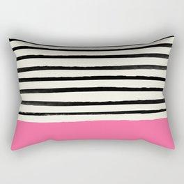 Watermelon & Stripes Rectangular Pillow