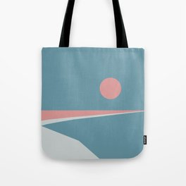 Sunset at Newton Tote Bag