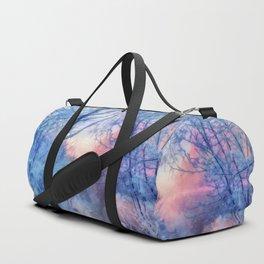 Winter evening Duffle Bag