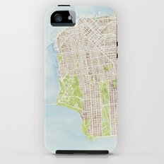 San Francisco CA City Map  Tough Case iPhone (5, 5s)