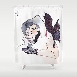 Los Caprichos ~ 45 ~ Plenty to Suck Shower Curtain