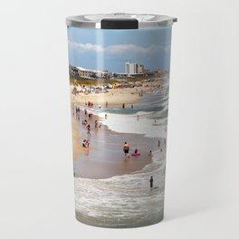 Tourist At Kure Beach Travel Mug