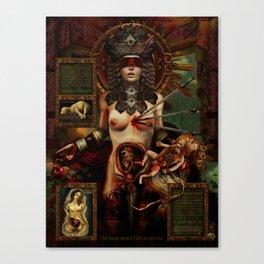 Ad maiorem Dei gloriam (A.M.D.G.) +13 Canvas Print