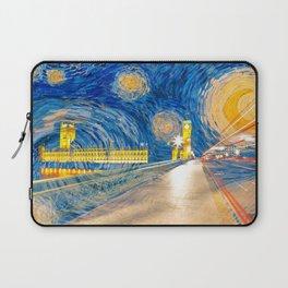 Starry London Night Laptop Sleeve