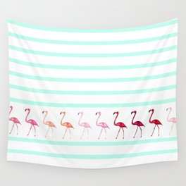 FLAmINGOs Wall Tapestry