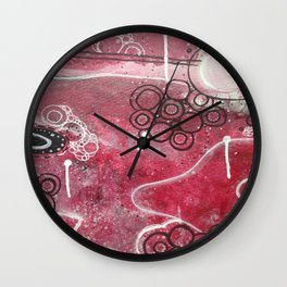 Collisions Wall Clock